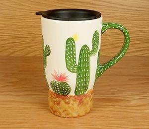 Cary Cactus Travel Mug