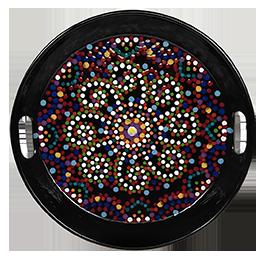Cary Mosaic Mandala Tray