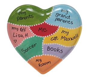Cary Map Of My Heart