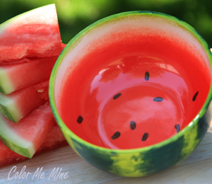 Cary Watermelon Bowl