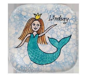 Cary Mermaid Plate