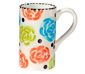 Cary Simple Floral Mug