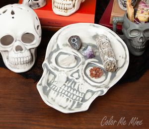 Cary Vintage Skull Plate