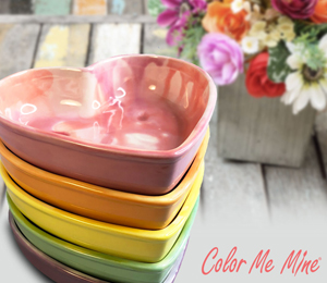 Cary Candy Heart Bowls