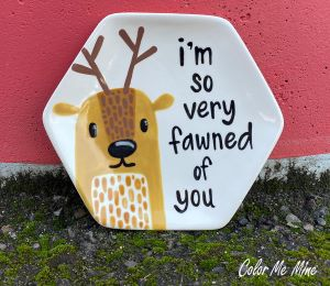 Cary Fawn Plate