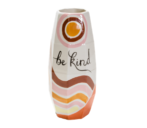 Cary Be Kind Vase