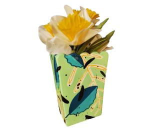 Cary Leafy Vase